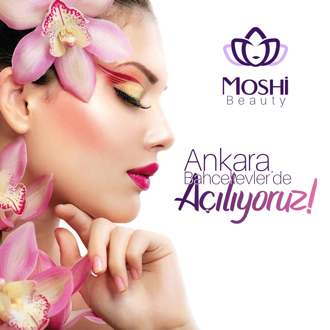 Moshi Beauty Sosyal Medya Çalışması