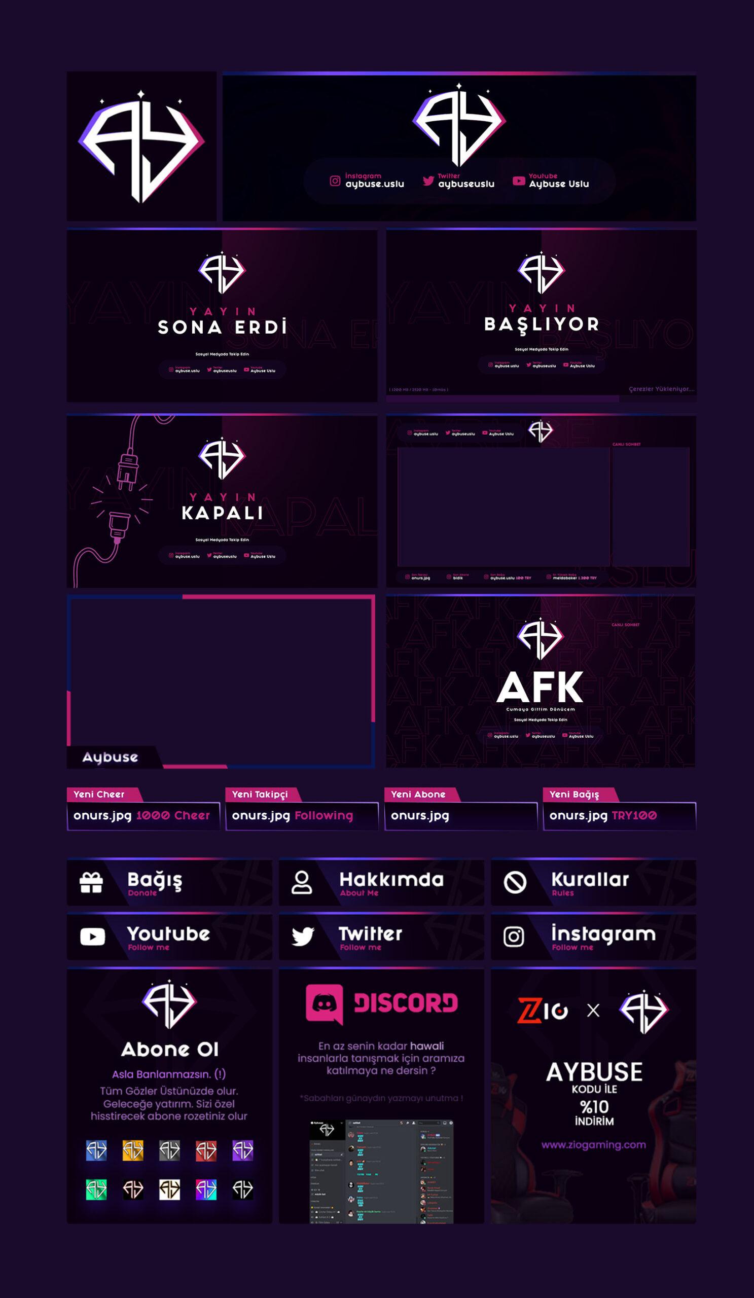 Aybuse Logo + Stream Pack